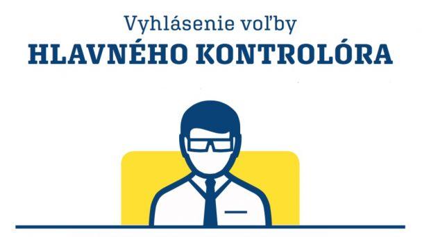 Vyhlásenie voľby hlavného kontrolóra Obce Kalinkovo