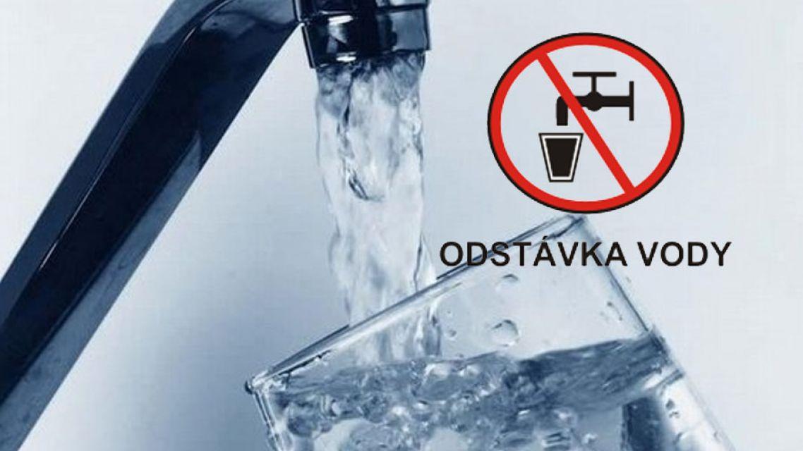 Odstávka pitnej vody