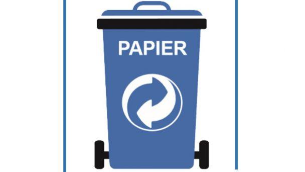 Sprístupnenie nádob na papierový odpad